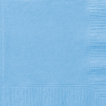 Powder Blue Napkins (BULK 50pcs) 2-Ply Paper Napkins